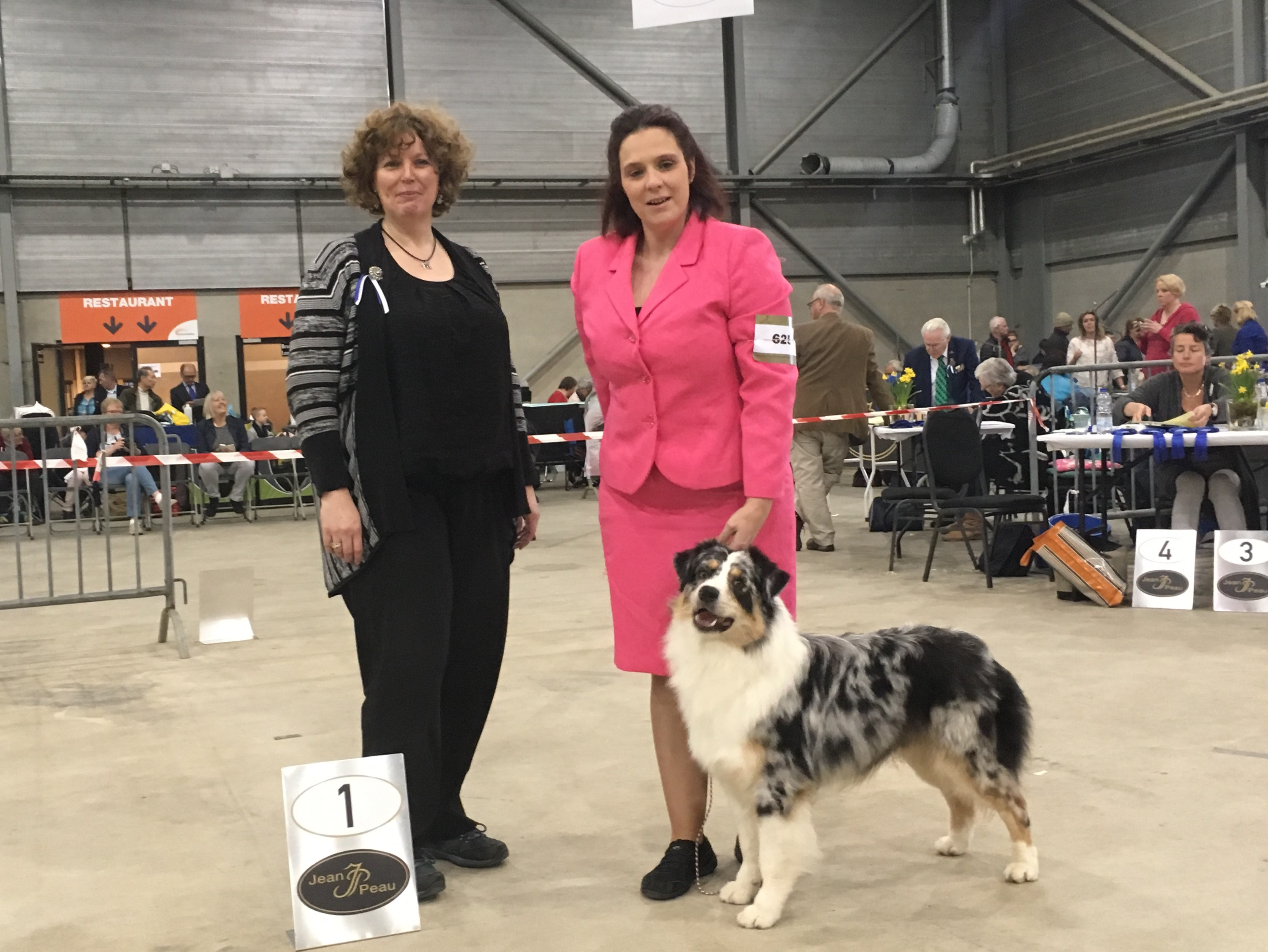 20170416 Dogshow0Goes day2 Charm BOB